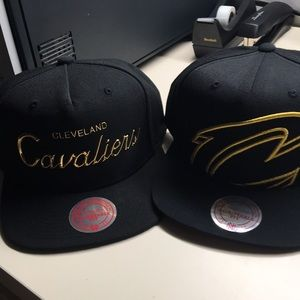 Cleveland Cavaliers SnapBack hat set of 2